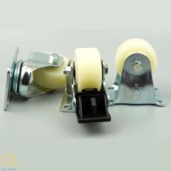Bánh xe vòng bi cỡ nhỏ Globe 50 PA, mặt đế