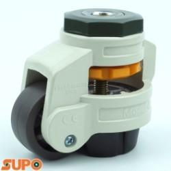 Bánh xe chân tăng chỉnh chiều cao SUPO 40, cọc lỗ