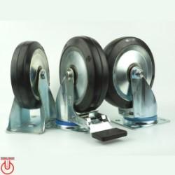 Bánh xe đẩy R150 Cao su cốt thép