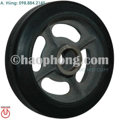 Bánh xe cốt gang 10x3 Cao su Phong Thạnh