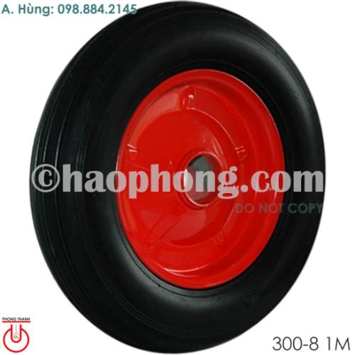 Bánh xe mâm thép 300-8 Cao su Phong Thạnh