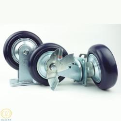 Bánh xe đẩy chịu tải trọng Globe 150 PA tím