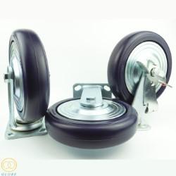 Bánh xe đẩy chịu tải trọng Globe 200 PA tím