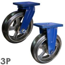 Bánh xe đẩy cao su chịu tải SS250