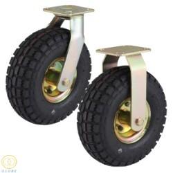 Bánh xe Cao su lốp hơi Globe 350-4
